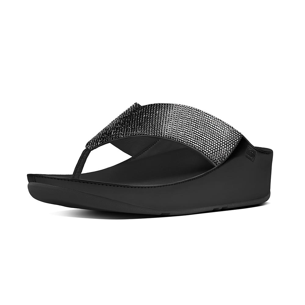 Huge Surprise Cheap Price Supply Sale Online FitFlop Crystall Toe Post Sandals Cheap Sale Reliable Free Shipping Footlocker Finishline z9vm3