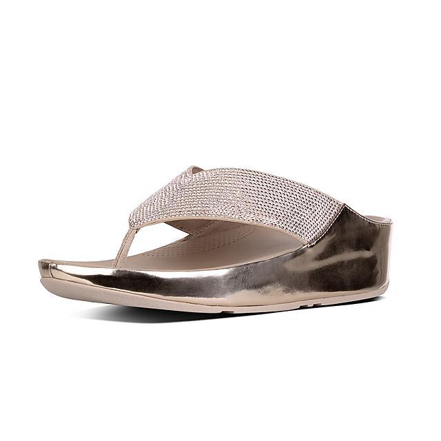 3f03d261e18c Women s CRYSTALL Microfibre Toe-Thongs