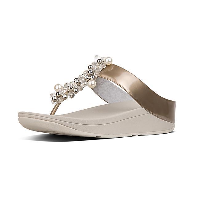 66882f3d4 Women s DECO Faux-Leather Toe-Thongs