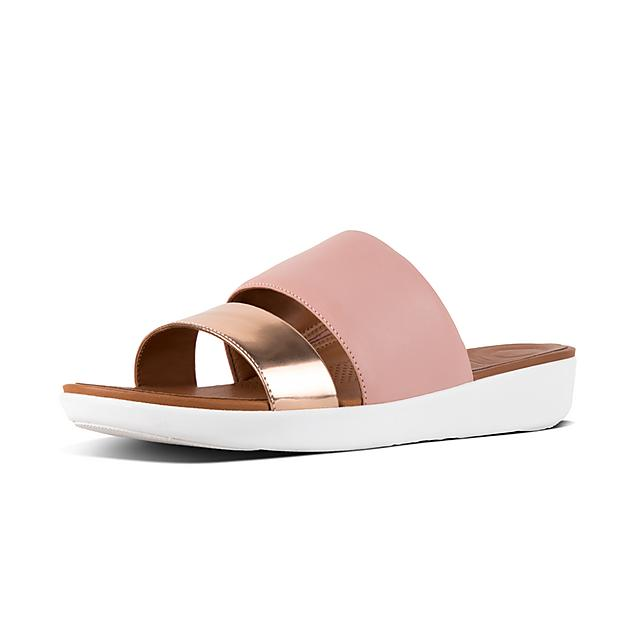 933a1d3b3c0e Women s DELTA Leather Slides