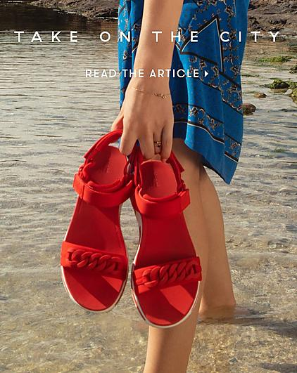 852ed766f Fitflop Heda sandals in passion red with adjustable back straps and rubber  chain detail.