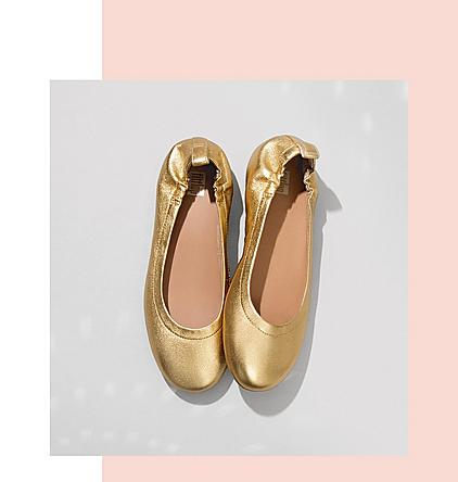 FitFlop Allegro Leather Ballerinas.