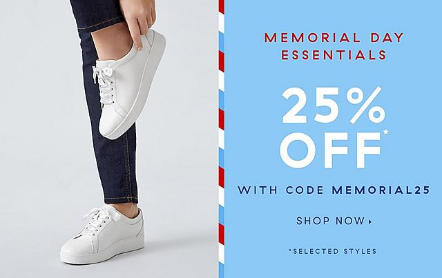 Memorial Day Sale now on at Fitflop with 25% off selected styles