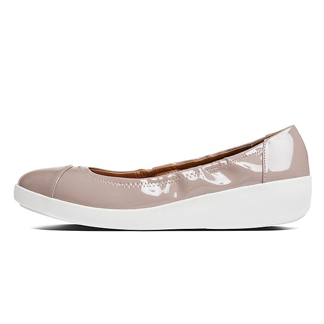 c7c0710496b80 Women's F-POP Faux-Leather Ballerinas
