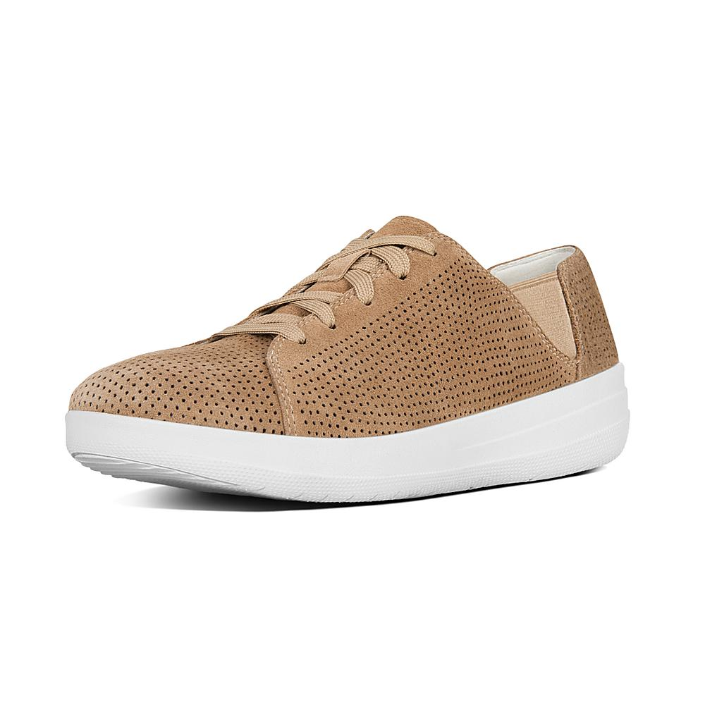 FitFlop F-Sporty Lace-Up Sneaker Perf Fki7saT47