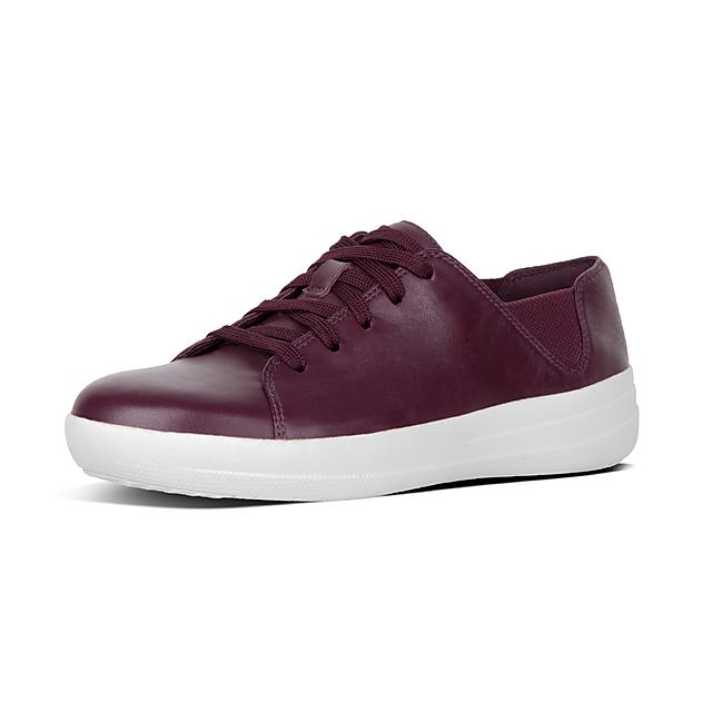 d7eddc14dbb221 F-SPORTY. Leather Lace-Up Sneakers