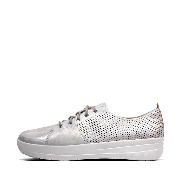 cb627887781 F-SPORTY. Perf Scoop-Cut Leather Sneakers