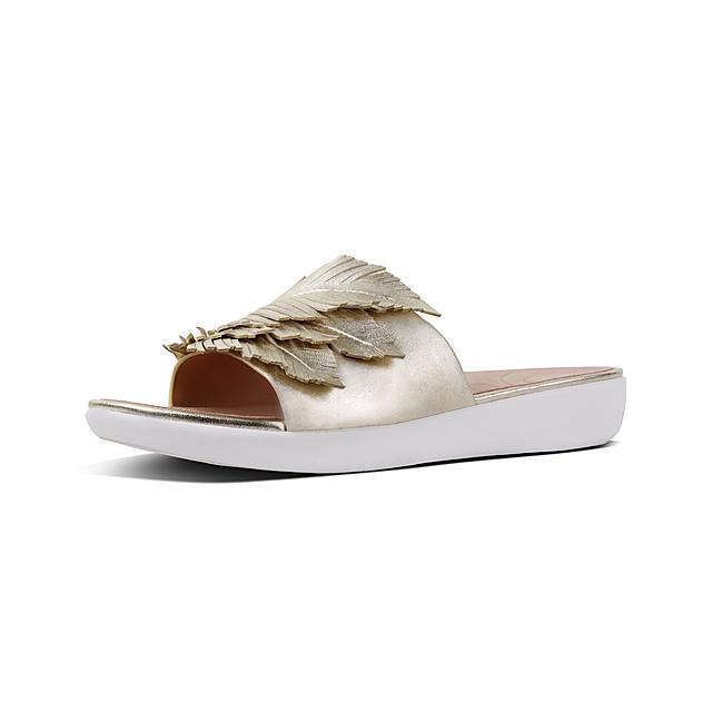 fd0fdf7ed Women s FEATHER-SOLA Leather Slides