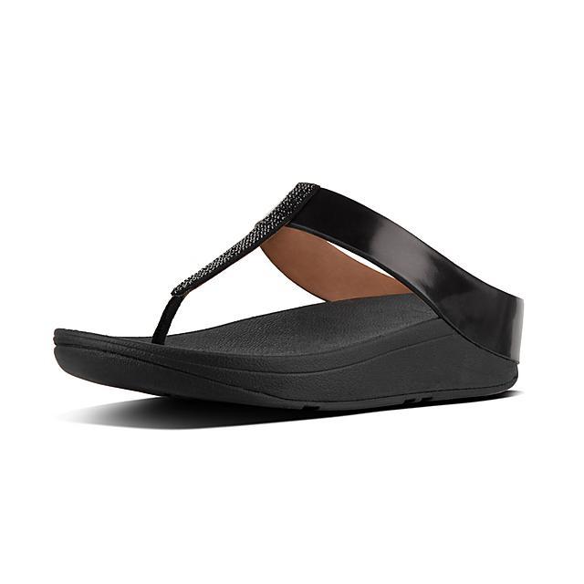 17fe21227514 Women s FINO Faux-Leather Toe-Thongs