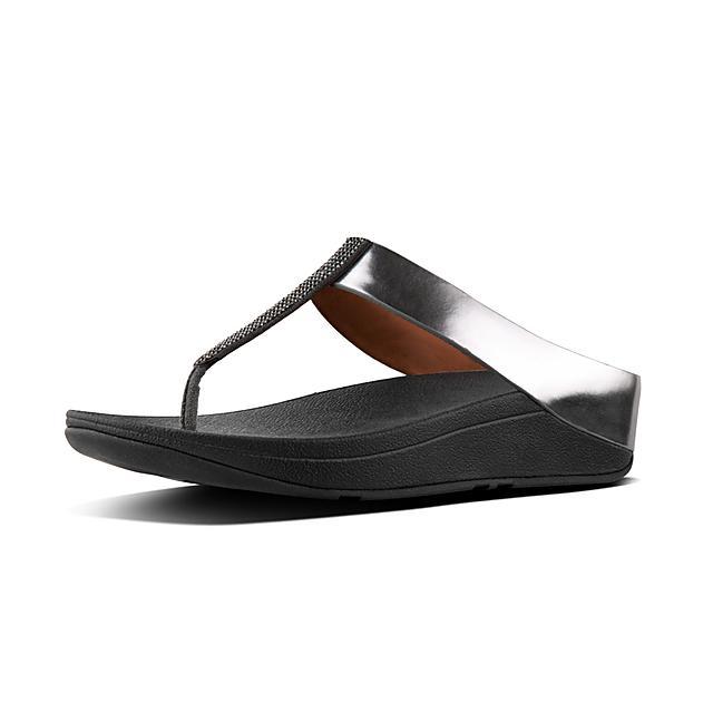 0d5fcd1a2fbf37 Women s FINO Faux-Leather Toe-Thongs
