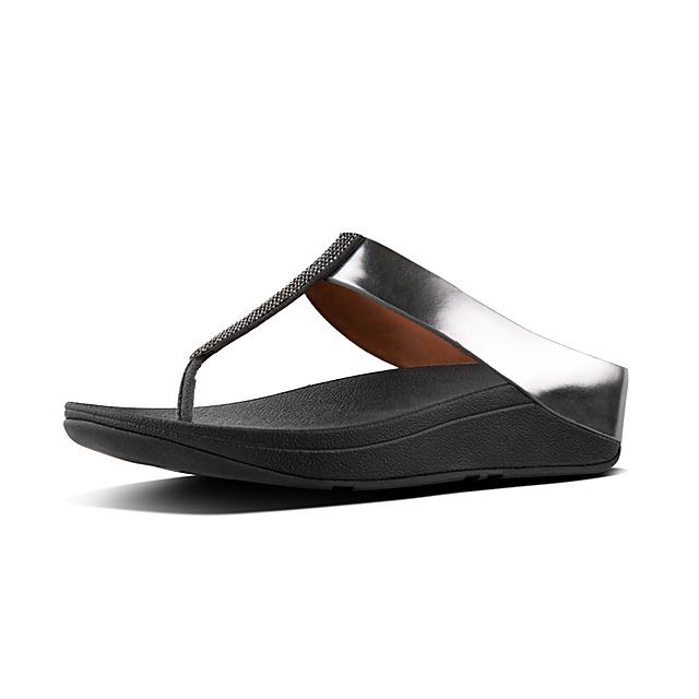 ed96cdeb5 Women s FINO Faux-Leather Toe-Thongs