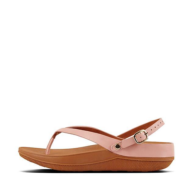 10a89ec71e8ac Fitflop Women's Flip Leather Sandals Black