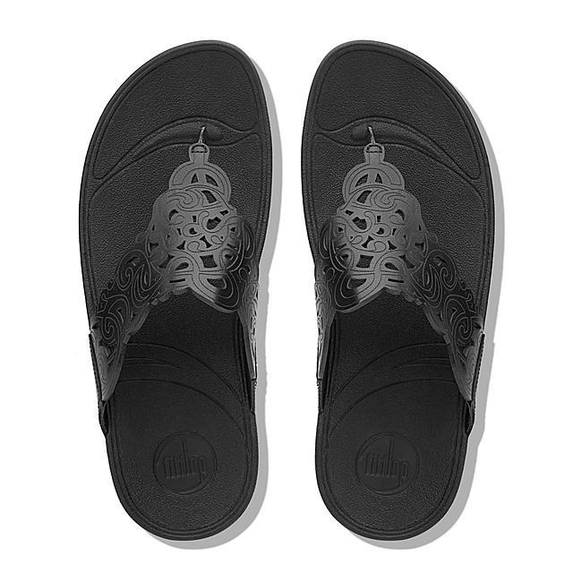 9c689eee1 Women s FLORA Leather Toe-Thongs