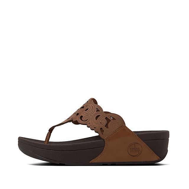 cd0f255bd47ac Women s FLORA Leather Toe-Thongs