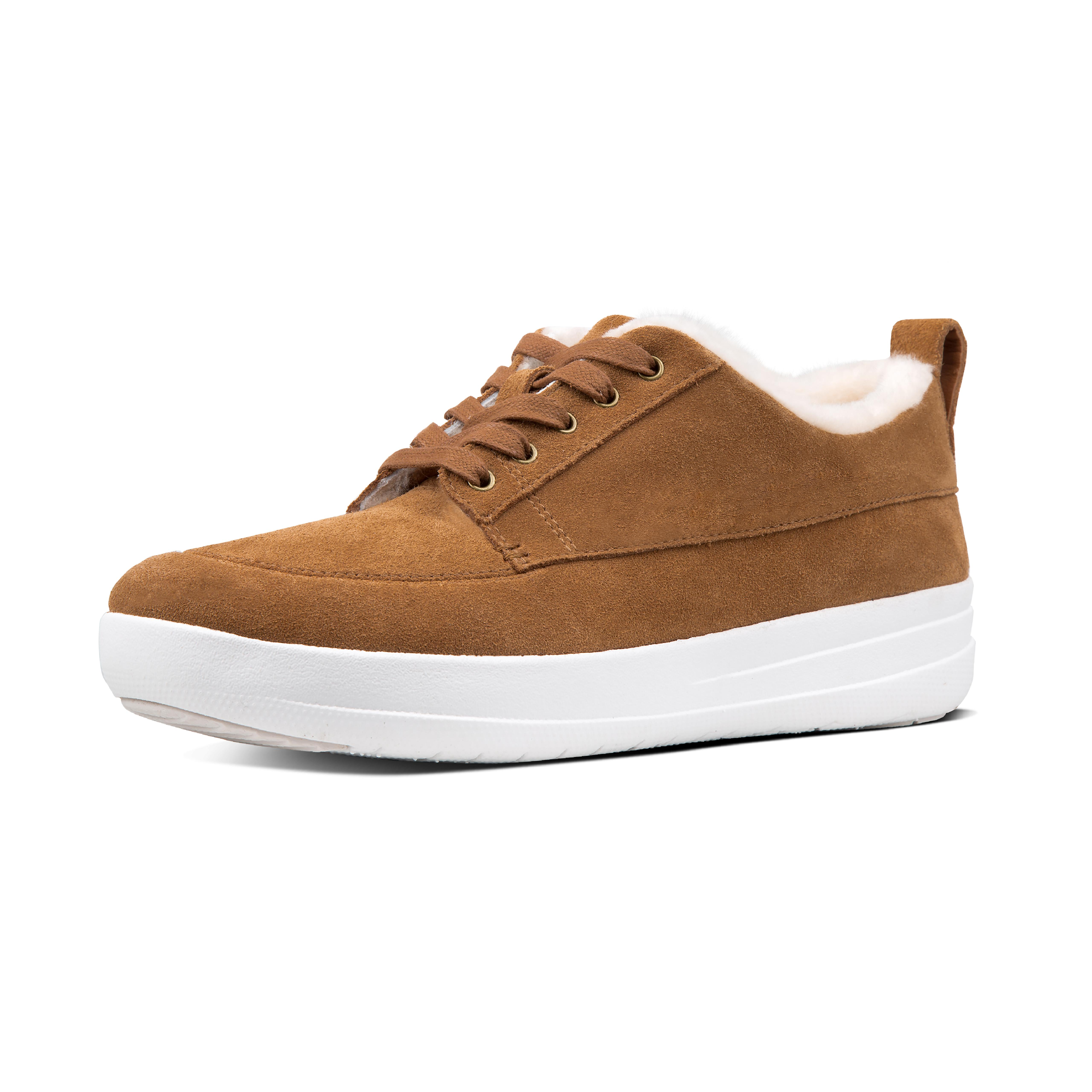 Live in sneakers? Then make sure you're equipped with a pair of these for when it gets chillier. In soft suede, with a fluffy toe-toasting shearling lining, and featuring our ultra-light, all-day cushioning Anatomicush midsole tech, they're guaranteed to keep feet snug (and effortlessly stylish).
