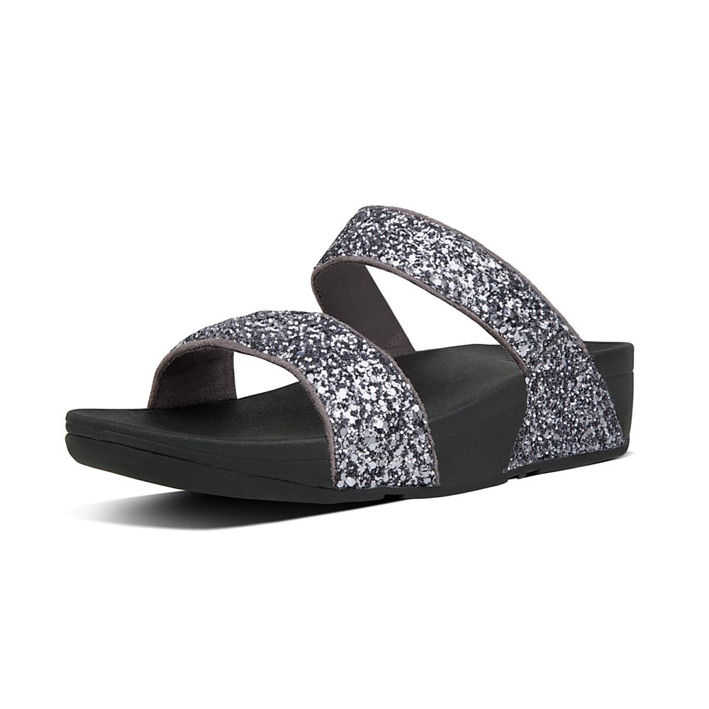 FitFlop Women's Glitterball Slide Sandal lahgzOG5