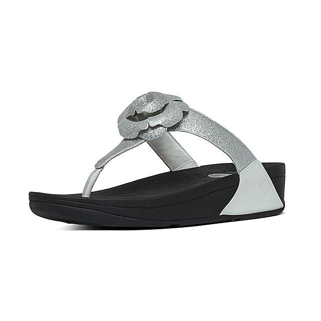 7e43c15e1 Women s GLITTEROSA Leather Toe-Thongs