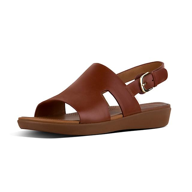 1e12ff0bfb8 Women s H-BAR Leather Back-Strap-Sandals