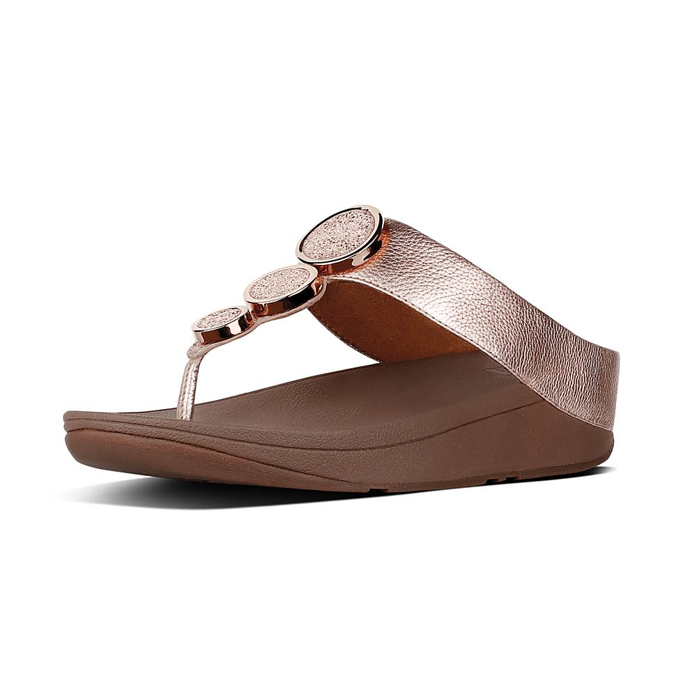 FitFlop Halo Thong Wedge Sandal (Women's)