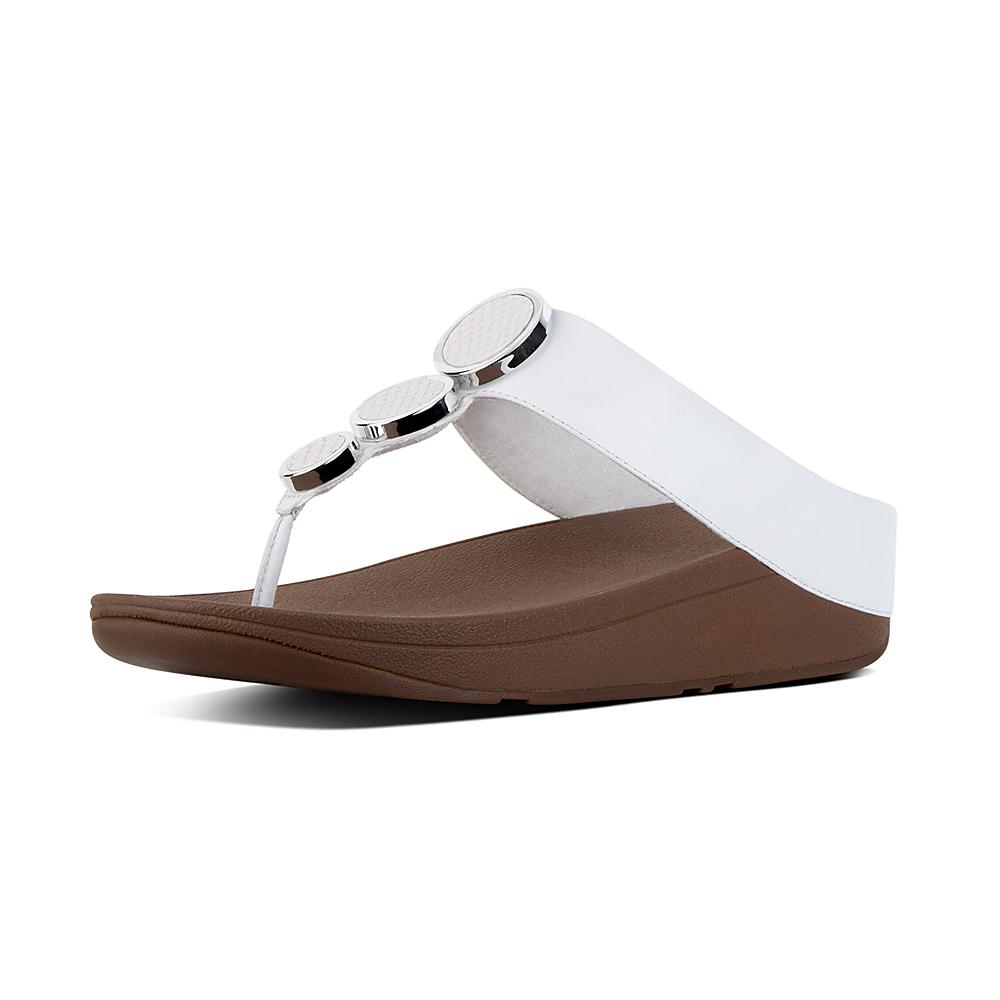 FitFlop Halo Thong Wedge Sandal (Women's) joUHHOm