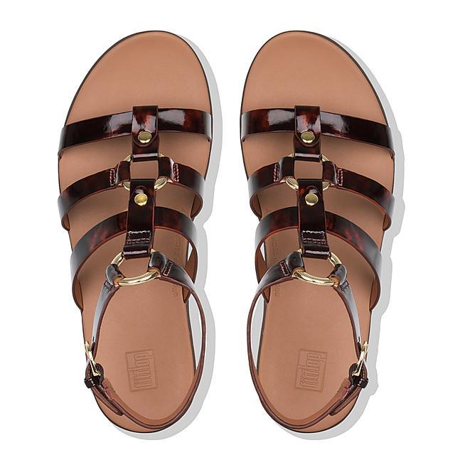 f0c6baa28 Women's HOOPLA Patent Back-Strap-Sandals