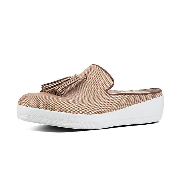 5842597dee1b7 Fitflop™ Women s Superskate Suede Mules Pale Gold