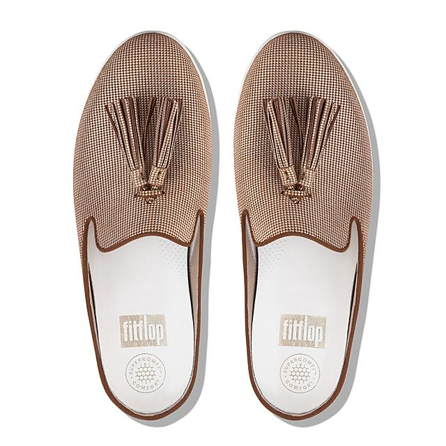 9e851f18108447 Fitflop™ Women s Superskate Suede Mules Pale Gold