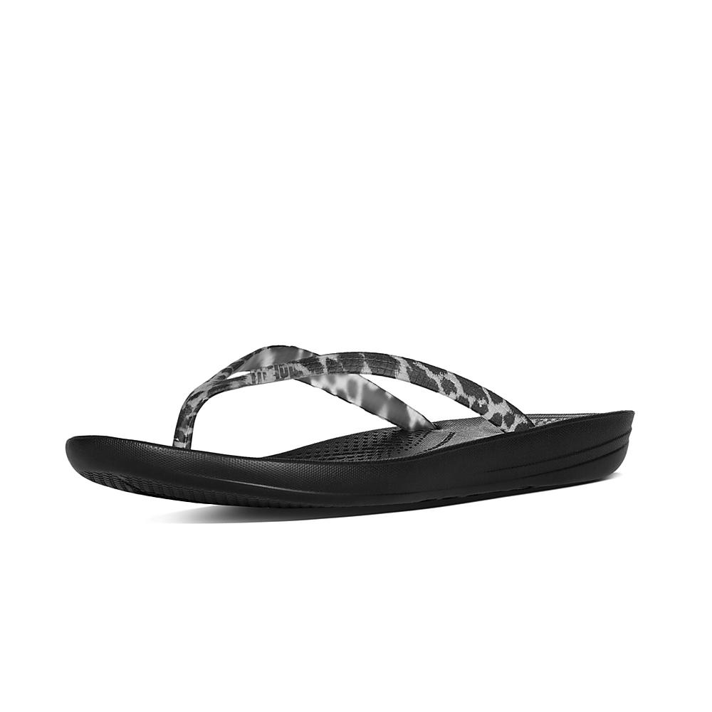 FitFlop Tongs IQUSHION ERGONOMIC FLIP FLOPS CRYSTAL