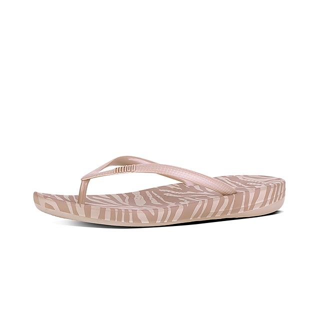 1024eabc41cb23 Fitflop™ Women s Iqushion Rubber Flip-Flops New Nude Mix
