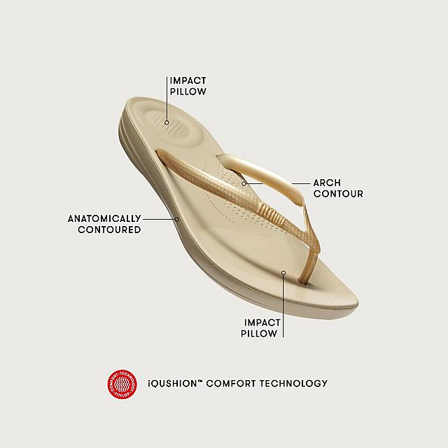 b47d9e59dc059e Fitflop™ Women s Iqushion Rubber Flip-Flops New Nude Mix