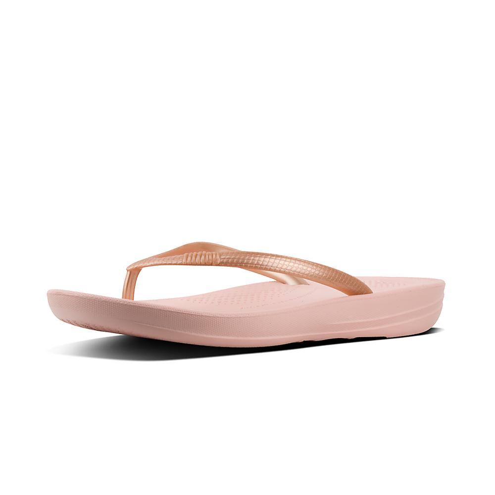 Rose IQushion flip flops