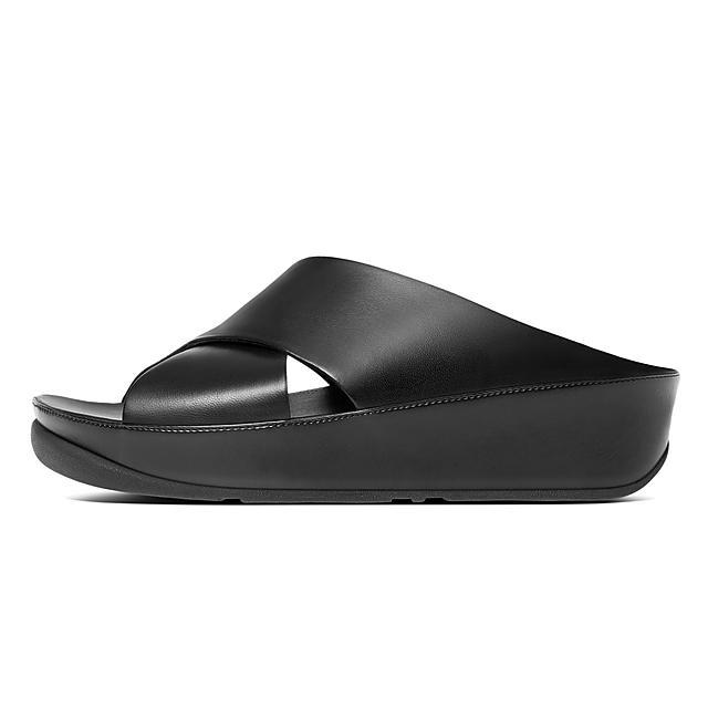 53073ec9f57c7b Women s KYS Leather Slides