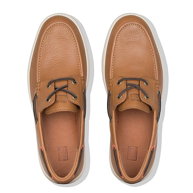 0420ab4601c27b LAWRENCE. Men s Leather Boat Shoes