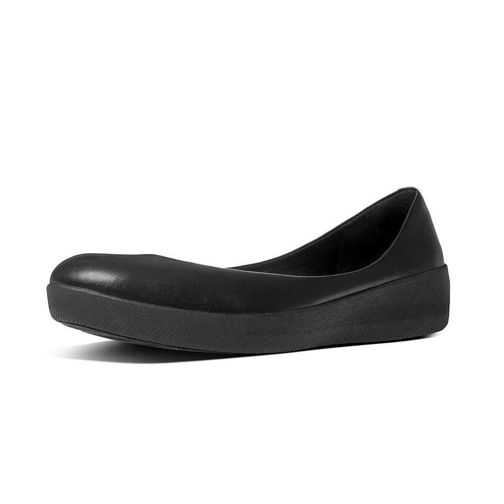 New FitFlop Super All Black Ballerinas for Women Online