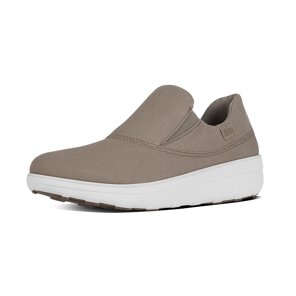 Discount Sale Fitflop Loaff Sporty SlipOn Sneakers Womens Black Online Store