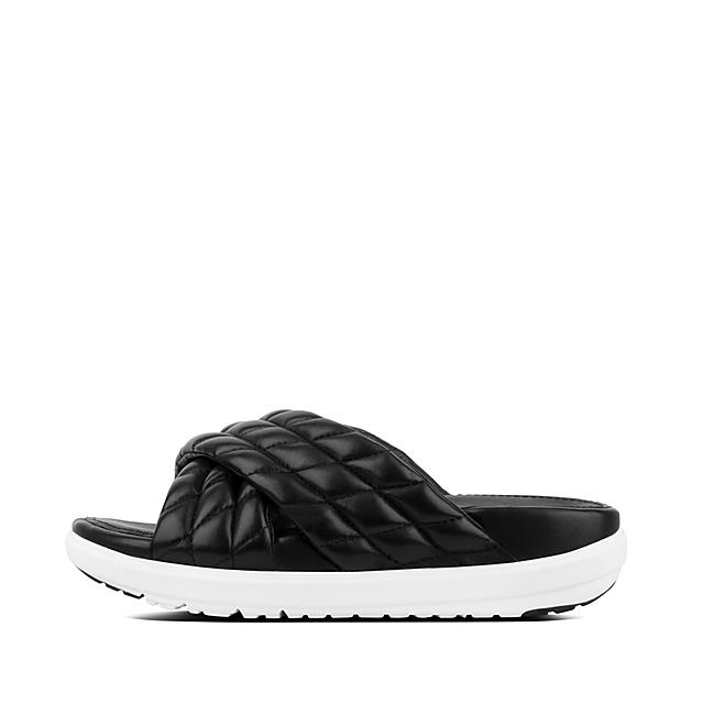2a4f3f85ee625a Women s LOOSH-LUXE Leather Slides