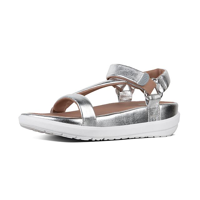 Women's LOOSH-LUXE Leather Back-Strap-Sandals