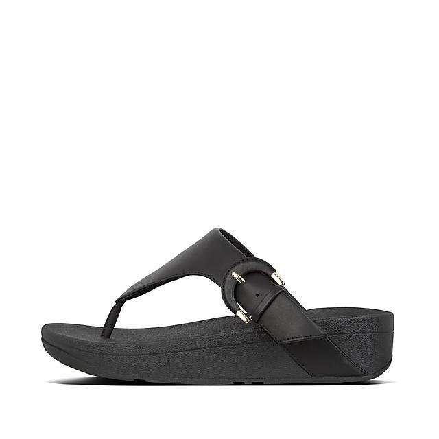 Women's Lottie Leather Toe-Thongs