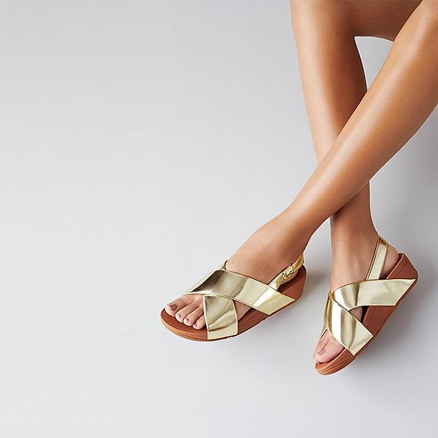 05d06ca7b6fe4 Women's LULU Faux-Leather Back-Strap-Sandals