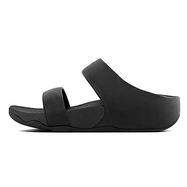 f6172a79381f6 Fitflop™ Women s Lulu Leather Slide Black
