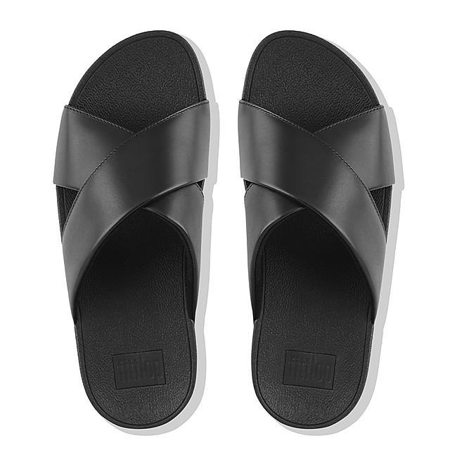 c103aa5f5d9f Women s LULU Leather Slides