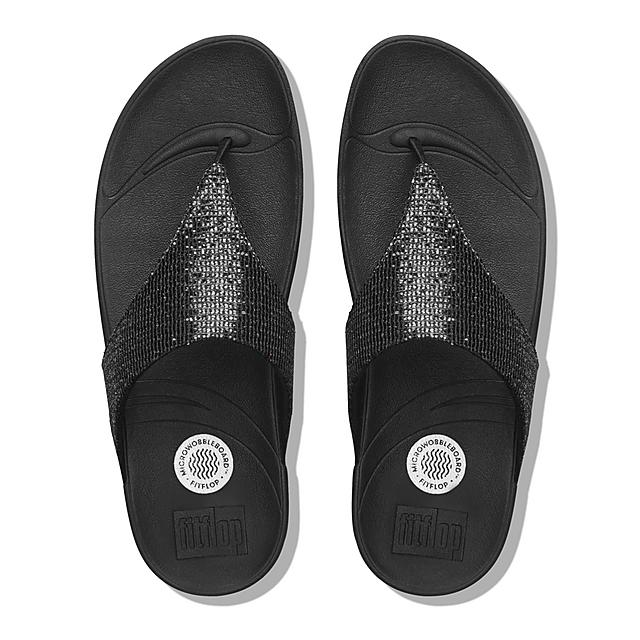 edac86b49b51 LULU. Superglitz Toe-Post Sandals