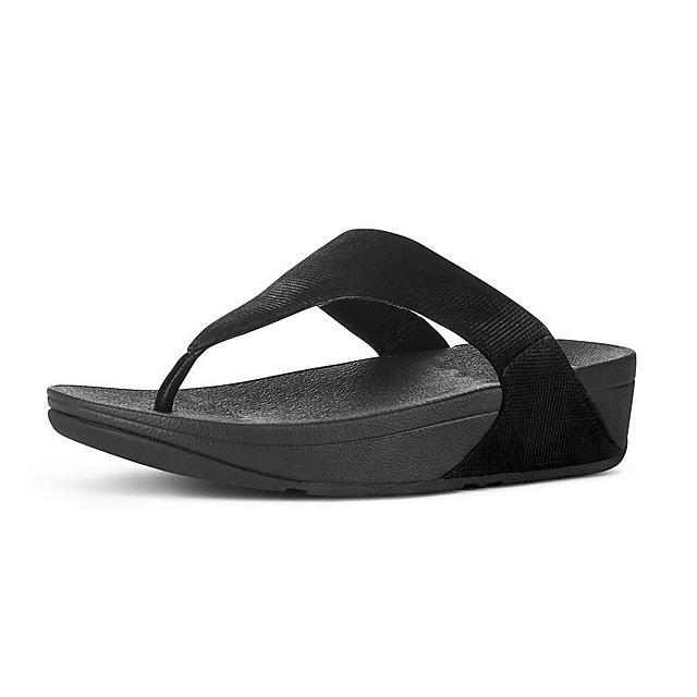 4e2d3513d22a LULU. Shimmer-Check Toe-Thongs