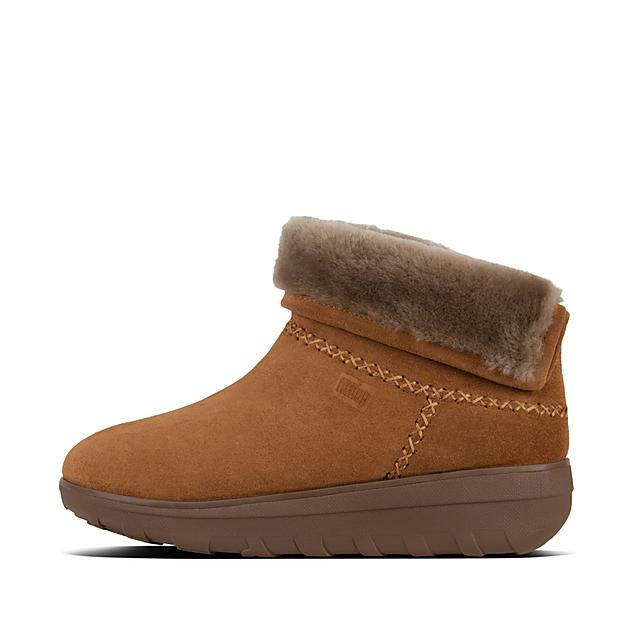 49b64b5e9c4eac MUKLUK SHORTY II. Suede Boots