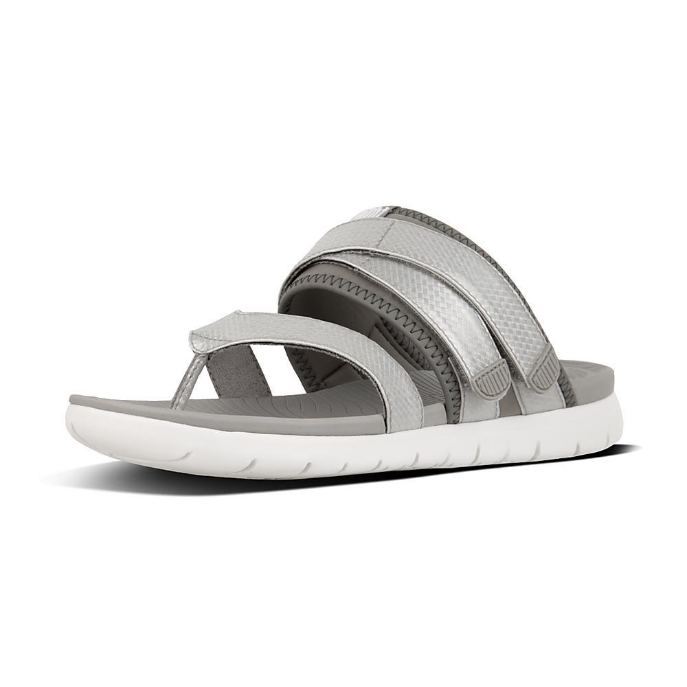 Light grey 'Neoflex' sandals