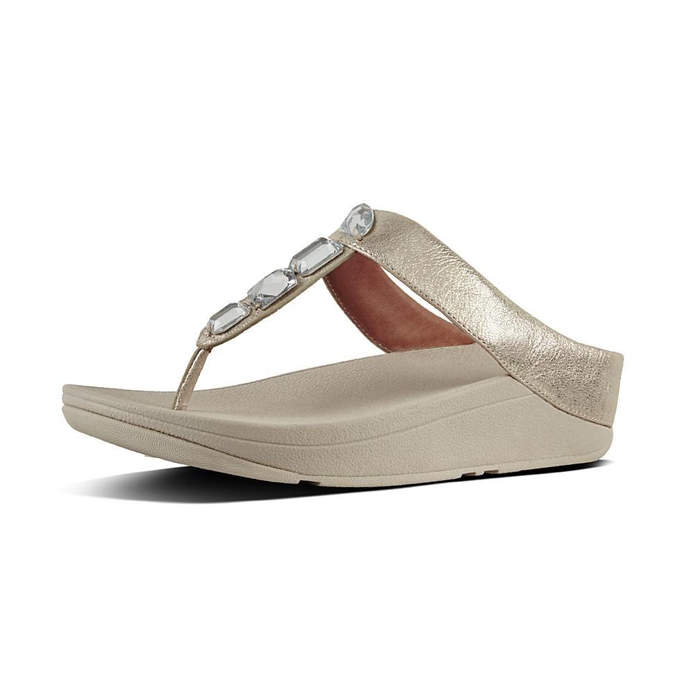 Fitflop Tongs Roka Toe-Thong Sandals Fitflop Soldes ofpea