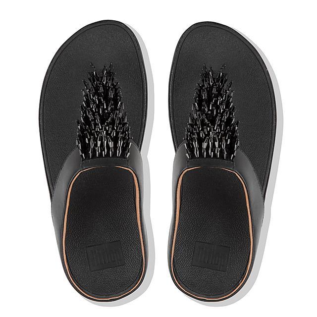 b5e09929a70e Women s RUMBA Leather Toe-Thongs