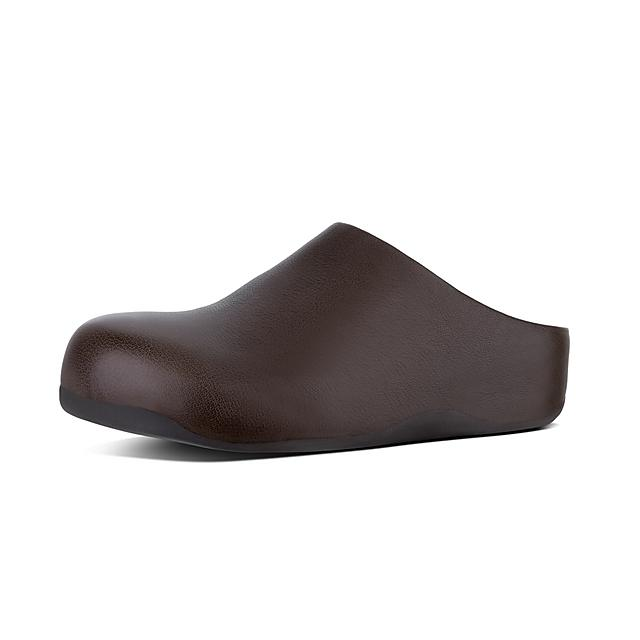 c6256ab614c Fitflop™ Men s Shuv Leather Clog Chocolate