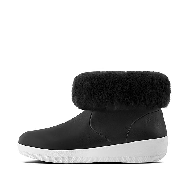 b2cecfcfa SKATEBOOTIE. Shearling Leather Boots