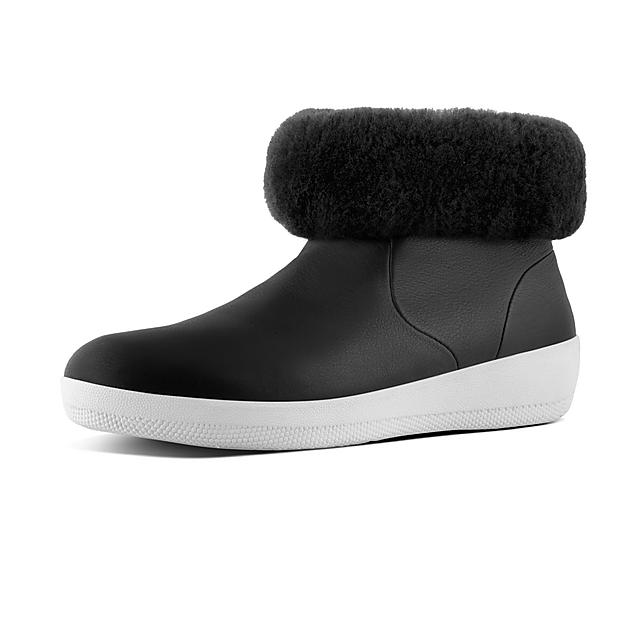 22ed608567c6 SKATEBOOTIE. Shearling Leather Boots